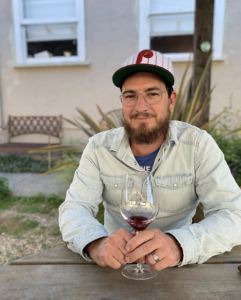 Winemaker Nate Thompson